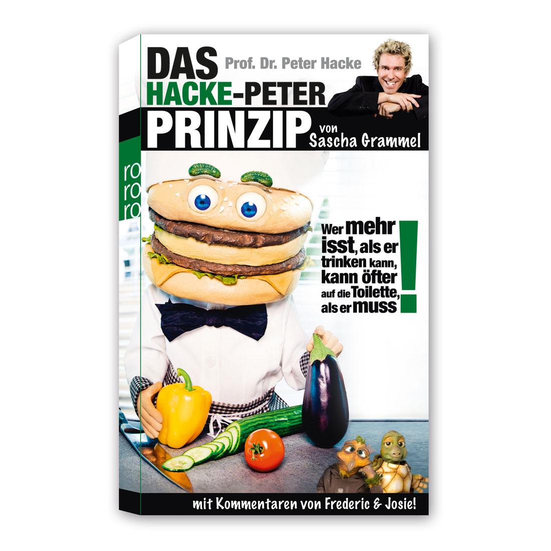 Sascha Grammel - Shop - Das Hacke-Peter-Prinzip - Sascha Grammel - Buch