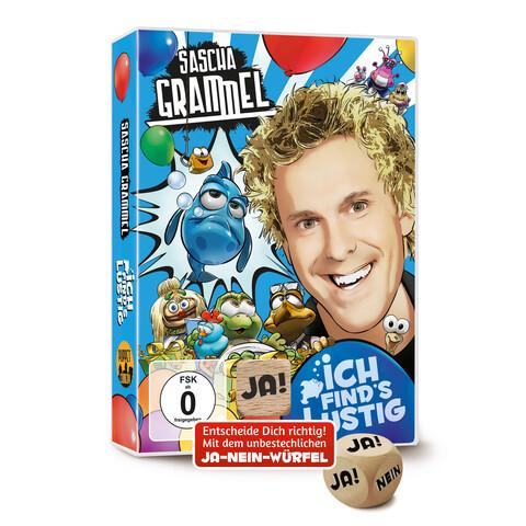 Ich Find's Lustig (Doppel-DVD Mit Ja-Nein-Würfel) von Grammel,Sascha - DVD-Video Album jetzt im Sascha Grammel Shop