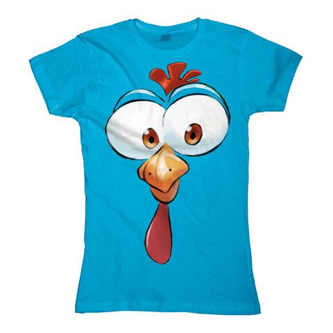 Big Huhn von Sascha Grammel - Girlie Shirt jetzt im Sascha Grammel Shop