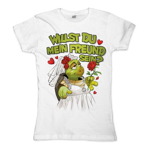 Willst Du mein Freund sein? von Sascha Grammel - Girlie Shirt jetzt im Sascha Grammel Shop