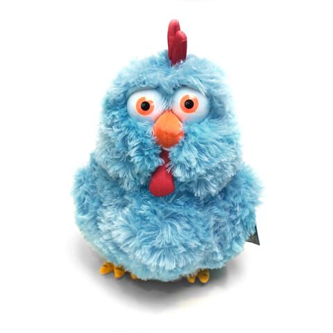 Blaues Huhn von Sascha Grammel - Plüschpuppe jetzt im Sascha Grammel Shop