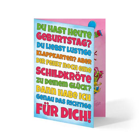 Geburtstag von Sascha Grammel - Glückwunschkarte jetzt im Sascha Grammel Shop