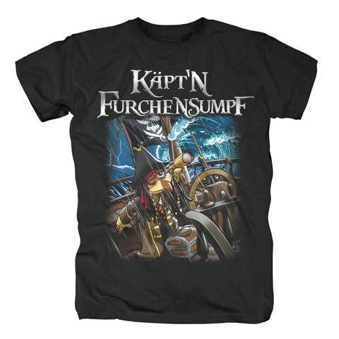 Käptn Furchensumpf von Sascha Grammel - T-Shirt jetzt im Sascha Grammel Shop