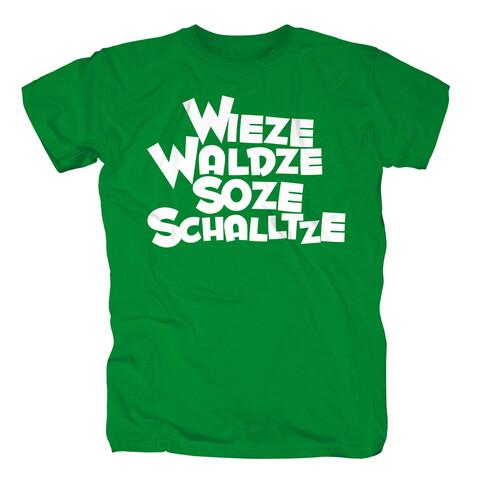 Wieze Waldze Soze Schalltze von Sascha Grammel - T-Shirt jetzt im Sascha Grammel Shop